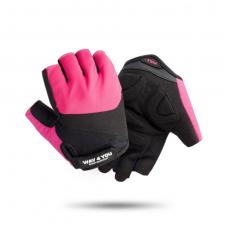 Спортивные фитнес перчатки для зала Way4you Pink w-1752