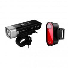 Комплект велосипедных фонарей Fenix BC25R + BC05R