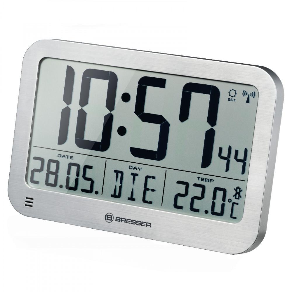 Годинник настінний Bresser MyTime MC Silver (7001801)