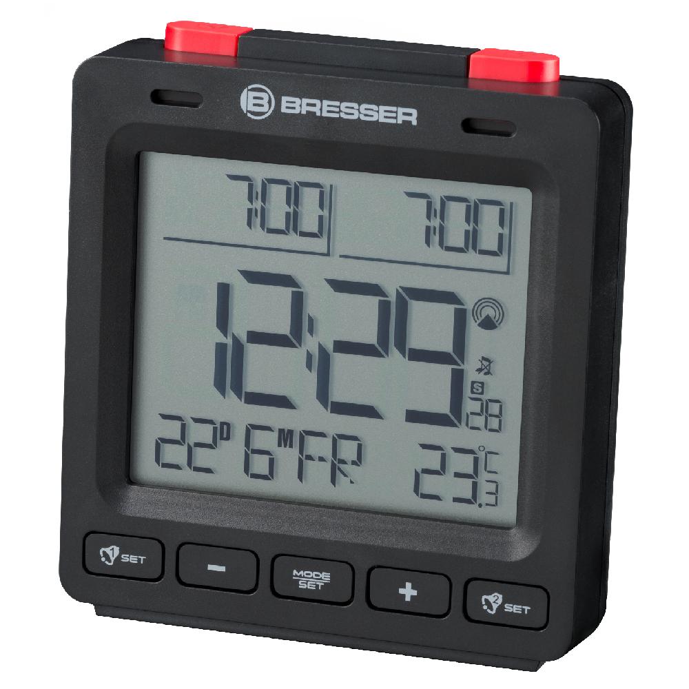 Годинник настільний Bresser MyTime Easy II RC Black (8010061CM300)