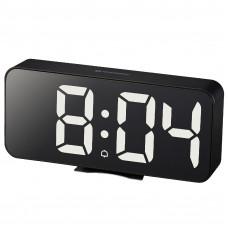 Часы настольные Bresser MyTime Echo FXL Black (8010072CM3WHI)