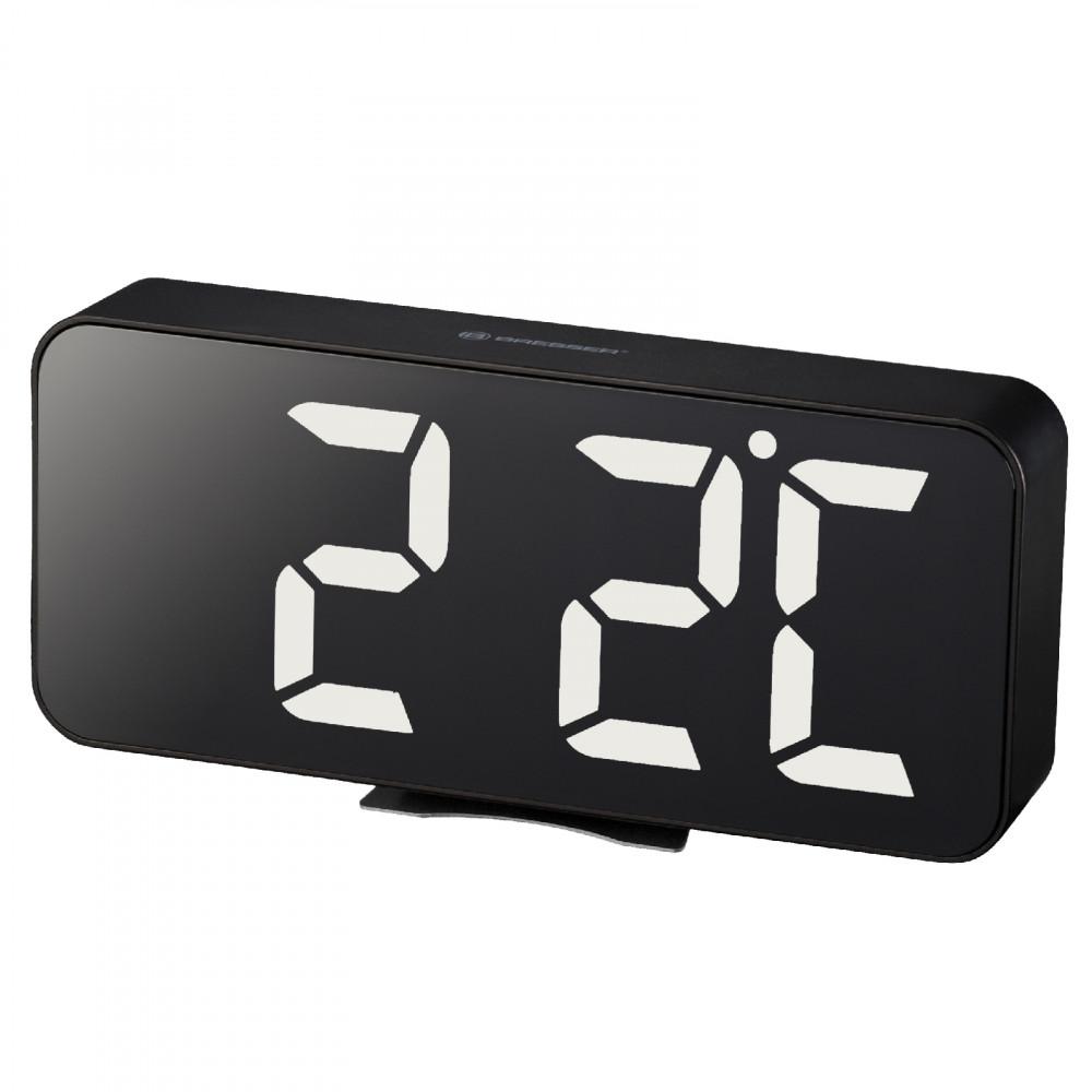 Годинник настільний Bresser MyTime Echo FXL Black (8010072CM3WHI)