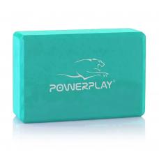 Блок для йоги PowerPlay 4006 Yoga Brick Мятный