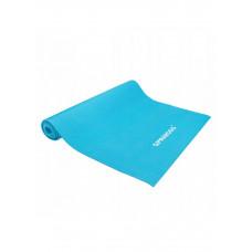 Коврик (мат) для йоги и фитнеса Springos PVC 4 мм YG0035 Sky Blue