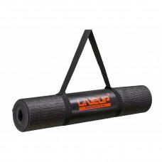 Коврик для йоги LiveUp Yoga Mat Total Black Limited Edition