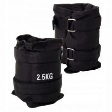 Утяжелители-манжеты для ног и рук Springos 2 x 2.5 кг FA0007