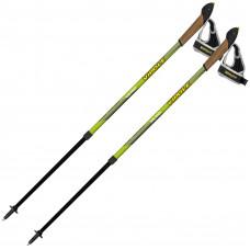 Палки для скандинавской ходьбы Vipole Vario Green DLX (S2031)
