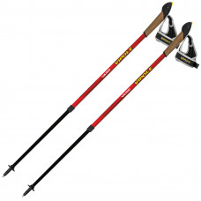 Палки для скандинавской ходьбы Vipole Vario Red DLX (S2030)