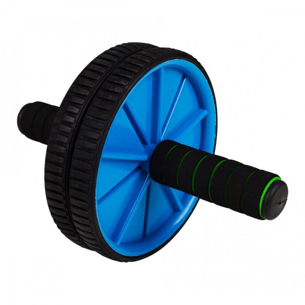 Ролик (гинастическое колесо) для пресса Eversport ES0002 Blue