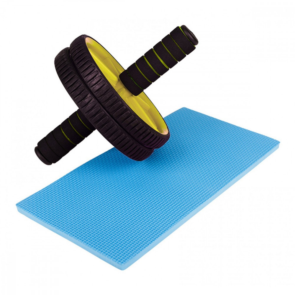 Ролик (гинастическое колесо) для пресса Sportcraft ES0005 Yellow
