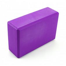 Блок для йоги Sportcraft Yoga Brick EVA ES0010 Violet