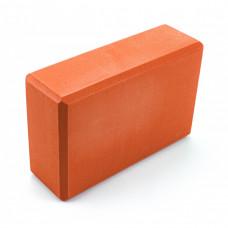 Блок для йоги Sportcraft Yoga Brick EVA ES0013 Orange