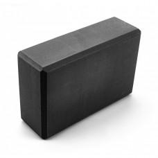 Блок для йоги Sportcraft Yoga Brick EVA ES0014 Black