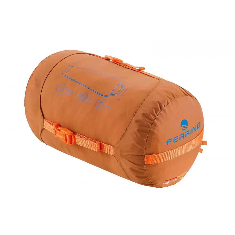 Спальний мішок Ferrino Lightec 1400 Duvet / -16 ° C Russet Left (86706IAA)