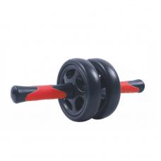 Колесо для пресса двойной PowerPlay 4327 Черно-красное