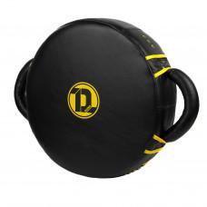 Макивара круглая Dozen Monochrome Trainer Shock Pad Black/Yellow