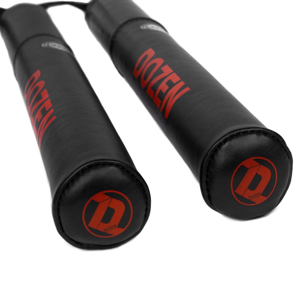 Лападаны Dozen Monochrome Hitting Sticks Black/Red (пара, размер 45 см *4,5 см)