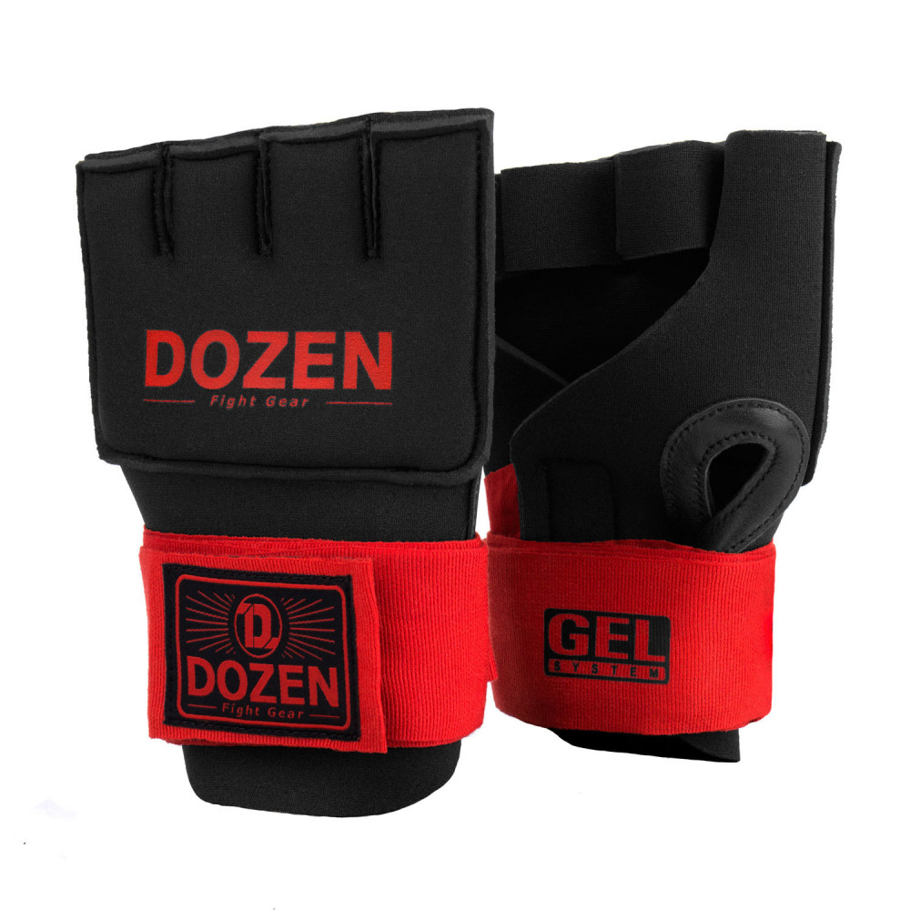 Швидкі бинти Dozen Prime Gel Inner Speed ​​Wraps Red