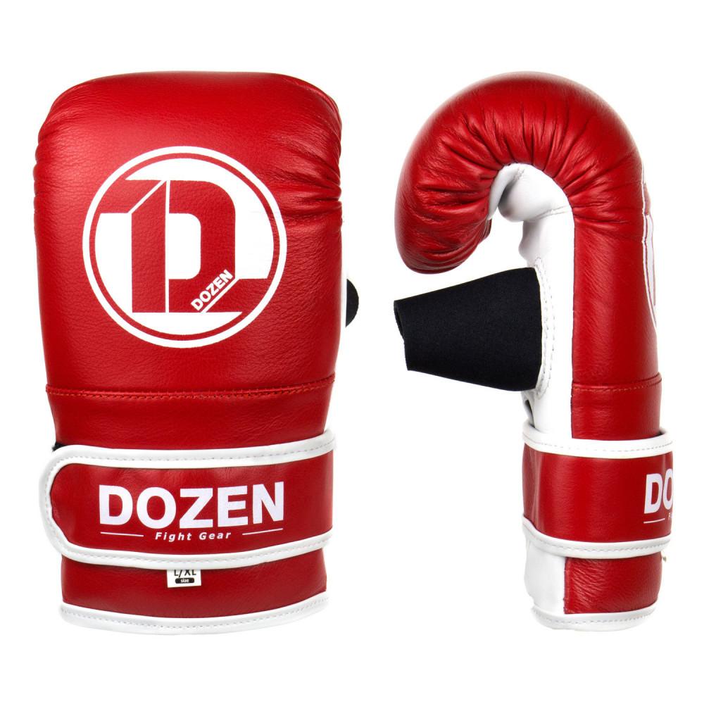 Снарядные перчатки Dozen Soft Pro Bag Gloves Red, S/M
