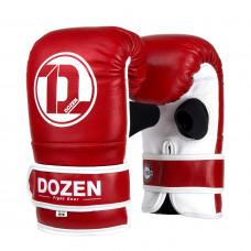 Снарядные перчатки Dozen Soft Pro Bag Gloves Red, L/XL