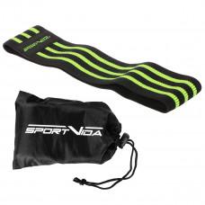 Резинка для фитнеса и спорта тканевая SportVida Hip Band Size M SV-HK0261
