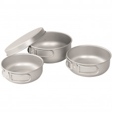 Набор посуды Easy Camp Adventure Ultra Light Cook Set Silver (680196)
