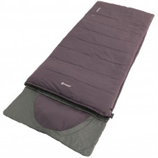 Спальний мішок Outwell Contour Reversible/+2°C Dark Purple Right (230372)