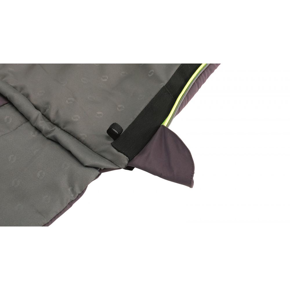 Спальный мешок Outwell Contour Reversible/+2°C Dark Purple Right (230372)