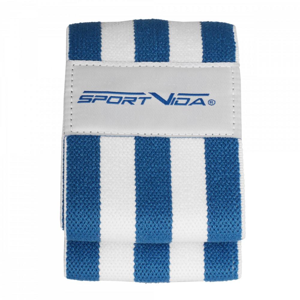 Резинка для фітнесу та спорту із тканини SportVida Hip Band Size M SV-HK0255