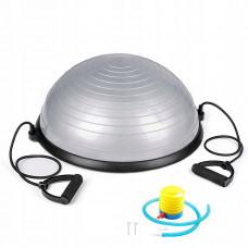 Балансировочная платформа Springos Bosu Ball 57 см BT0002 Silver