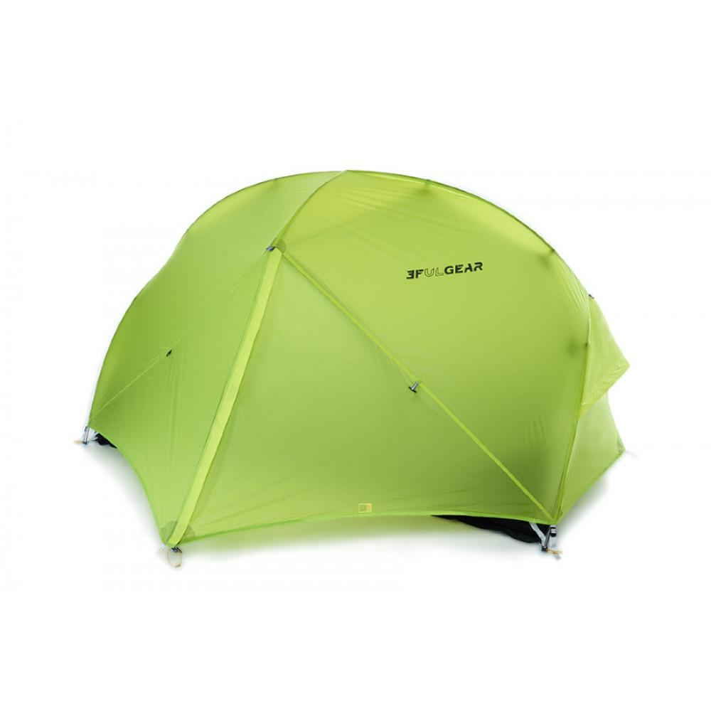Палатка 3F Ul Gear Floating Cloud 2 15D зеленый