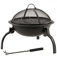 Гриль угольный Outwell Cazal Fire Pit Black (650291)