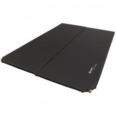 Коврик самонадувающийся Outwell Self-inflating Mat Sleepin Double 3 cm Black (400011)