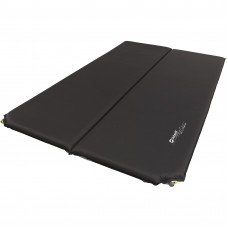 Коврик самонадувающийся Outwell Self-inflating Mat Sleepin Double 5 cm Black (400012)