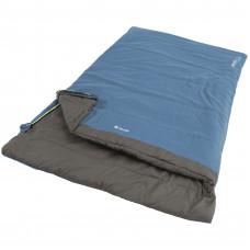 Спальний мішок Outwell Celebration Lux Double/+2°C Blue Left (230371)