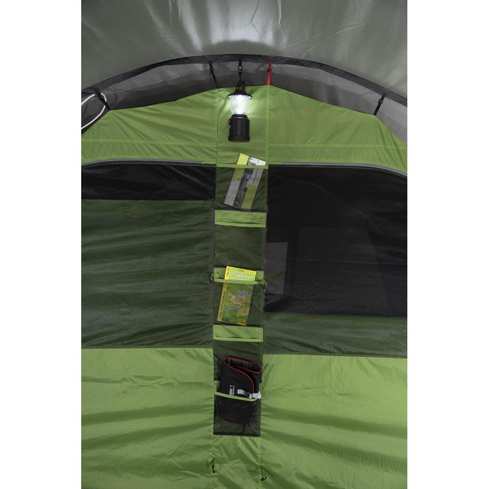 Палатка High Peak Garda 4.0 Light Grey/Dark Grey/Green (11821)