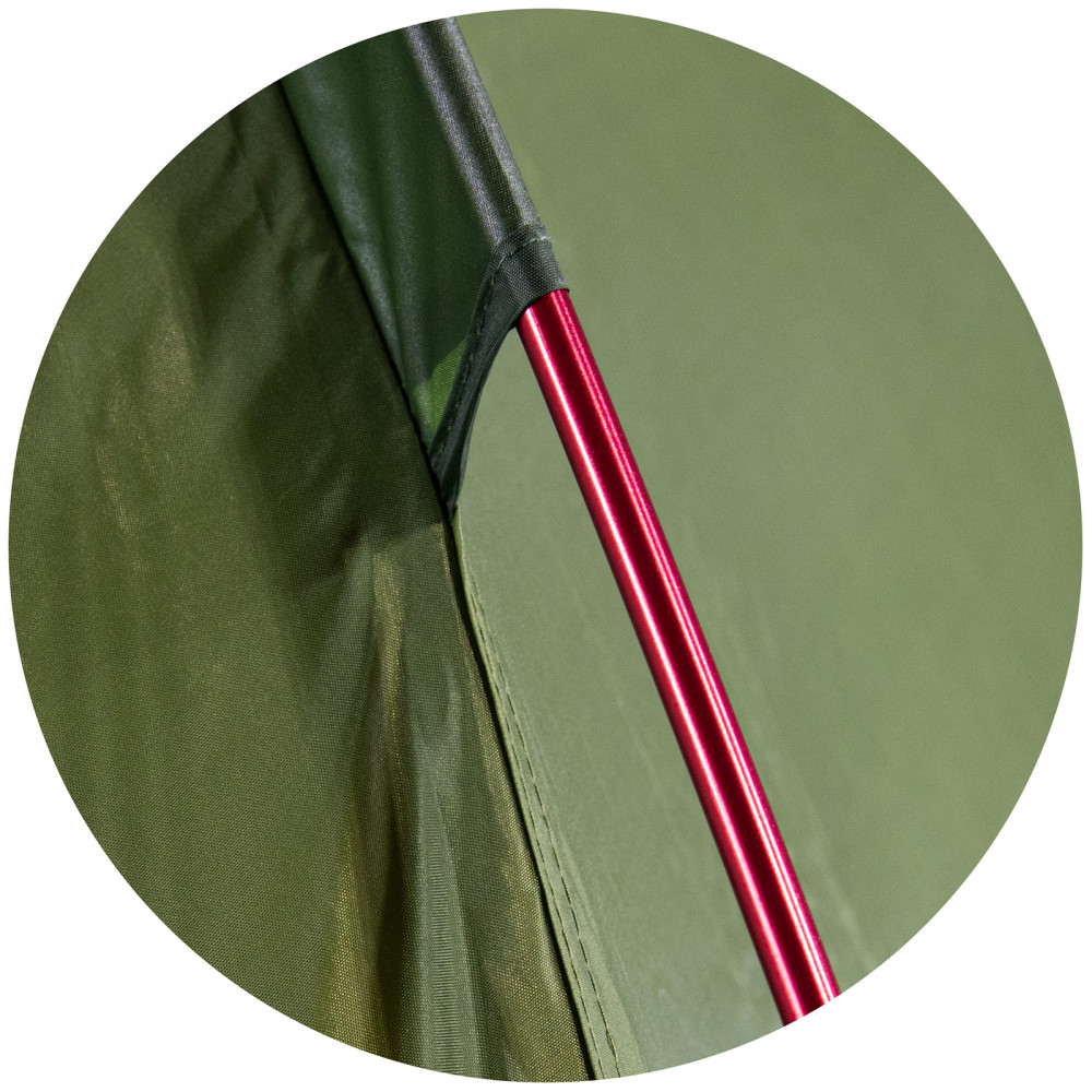 Палатка High Peak Siskin 2.0 LW Pesto/Red (10330)