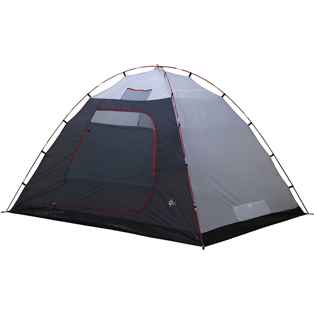 Палатка High Peak Tessin 4 Dark Grey/Red (10222)