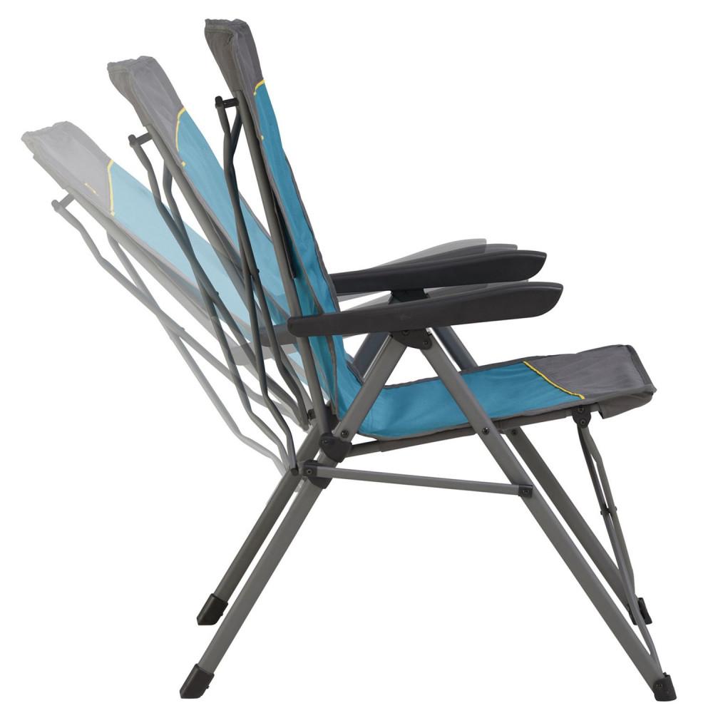 Крісло розкладне Uquip Justy Blue/Grey (244015)
