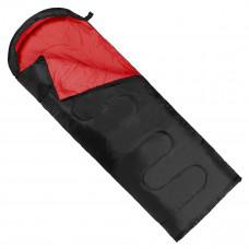 Спальный мешок (спальник) одеяло SportVida SV-CC0064 +2 ...+ 21°C L Black/Red