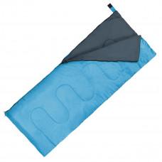 Спальный мешок (спальник) одеяло SportVida SV-CC0060 +2 ...+ 21°C R Sky Blue/Grey