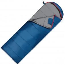 Спальный мешок (спальник) одеяло SportVida SV-CC0070 -3 ...+ 21°C R Blue/Grey