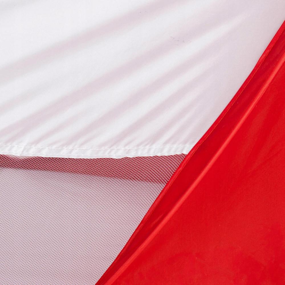 Пляжный тент Springos Pop Up 120 x 200 см PT012 Red/White