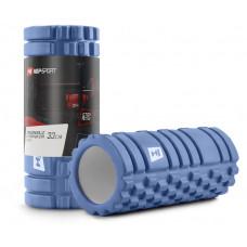 Роллер для кросфіту та йоги EVA 33*14 см HS-A033YG Блакитний