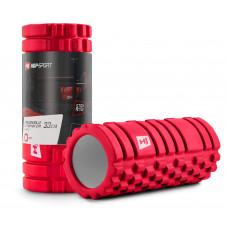 Роллер для кросфіту та йоги EVA 33*14 см HS-A033YG Червоний