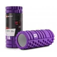 Роллер для кросфіту та йоги EVA 33*14 см HS-A033YG Фіолетовий
