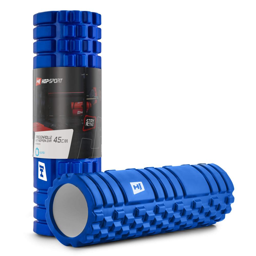 Роллер для кросфіту та йоги EVA 45*14 см EVA 45 см Синій