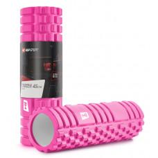 Роллер для кросфіту та йоги EVA 45*14 см EVA 45 см Рожевий