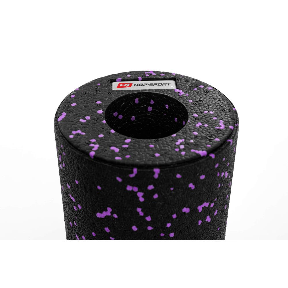Роллер для кросфіту та масажу EPP 33*14 см HS-P033YG Фіолетовий