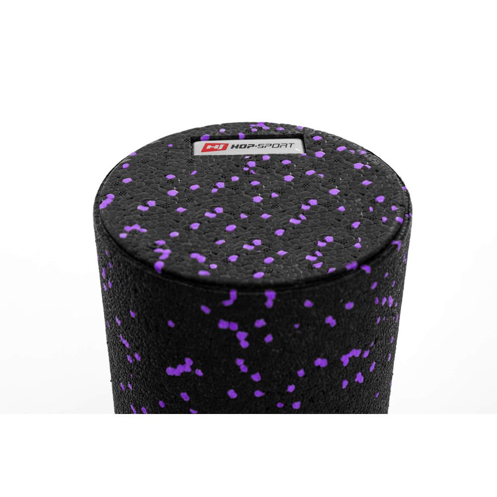 Роллер для кросфіту та масажу EPP 33*14 см HS-P033SYG Фіолетовий